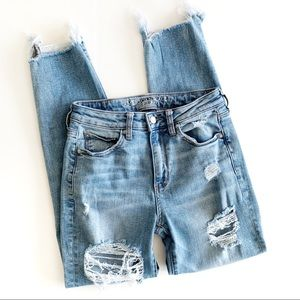 American Eagle   High Rise Slim Ankle Jeans Size 2